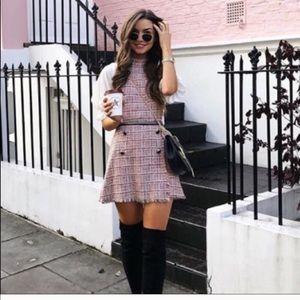 Zara tweed romper